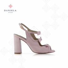 LEATHER SANDAL WITH BOW