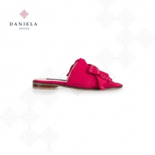 SANDAL WITH BOW AND STUDS