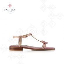 FLAT SANDAL WITH BOW