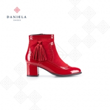 RED COMBINED BOOTS